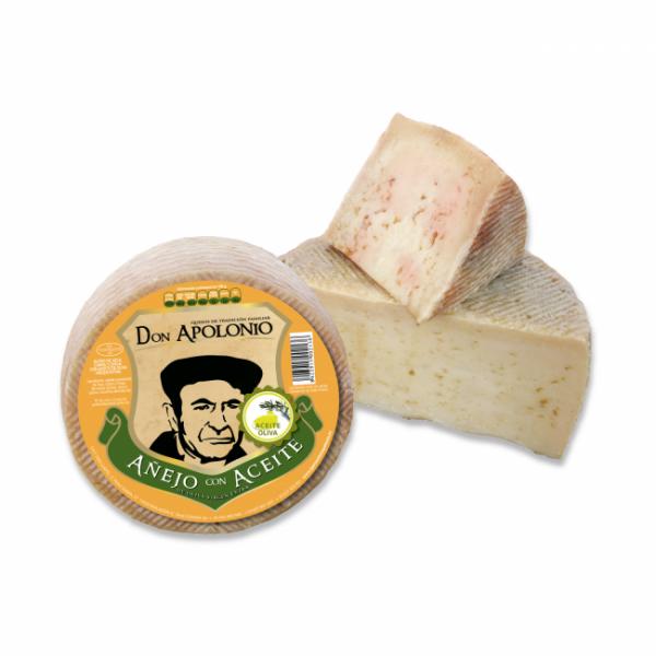 Queso Don Apolonio Mezcla con Aceite