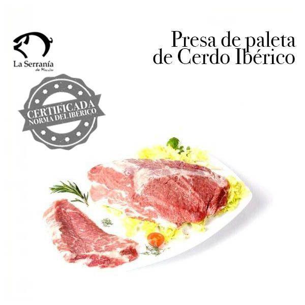 Presa de Paleta Ibérica Certificada